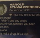 An Interview With Arnold