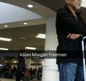 Morgan Freeman's Long Lost Asian Brother