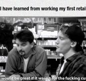 Retail Job Lessons