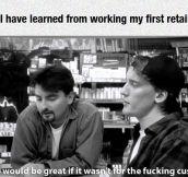 Retail Job Lessons