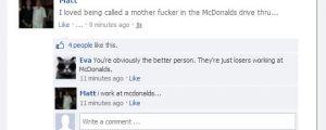 Misunderstood McDonalds Worker
