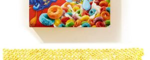 Fruit Loops Organized By Colors, Oddly Satisfying