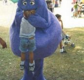 Grimace Is Hungry
