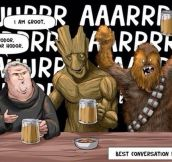 The Best Bar Conversation Ever