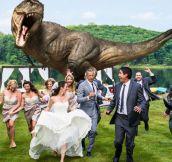 A Jurassic Wedding