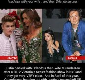 The Orlando Bloom-Bieber Theory