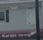 Karate Studio Is Not Messing Around