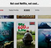 I See What You Did There, Netflix