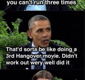 Obama Burning Galifianakis
