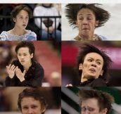 The Freaky Faces Of Figure Skaters