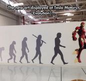 Evolution Art At Tesla Motors