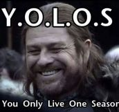 Sean Bean's version of YOLO