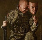 Powerful Artwork About War
