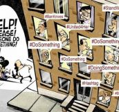 Hashtag Activism Illustrated
