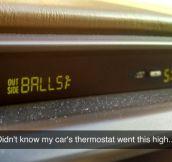 How Warm Is It Outside?