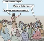 Some God Messengers These Days