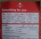 This British Postman Rocks