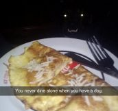 You Never Eat Alone