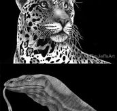 Amazingly Detailed Drawn Animals