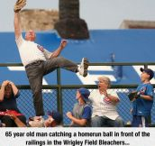 Nice Catch, Old Man