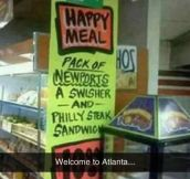 Atlanta's Happy Meal