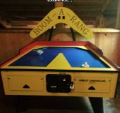 Boom-A-Rang Hockey Table