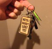 Finding Lost Keys
