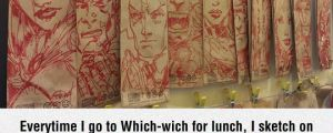 X-Men Lunch Bags