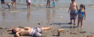 Dad Beach Prank