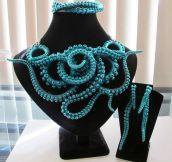Gorgeous Octopus Necklace