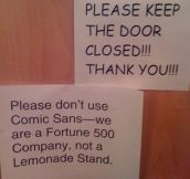 The Problem With Comic Sans
