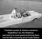 Lyndon B. Johnson Was A Prankster Back In The Day