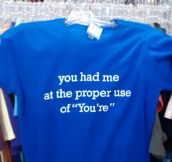 For Grammatically Correct People