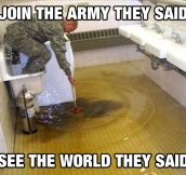 The Joyful Life Of A Soldier