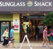 You're Doing It Right, Sunglass Shack