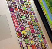 The Coolest Superhero Keyboard