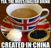 Oh, England. You Guys And Your Tea