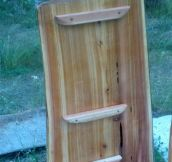 Tree Stump Shelf