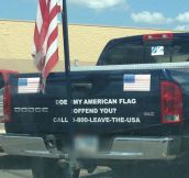 Does My Flag Offend You?