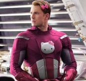 Superheroes Receive a Hello Kitty Makeover