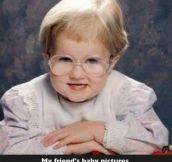 A baby mrs doubtfire