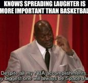 Good Guy Michael Jordan