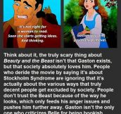 This Guy Just Changed The Way We See Beauty And The Beast. Mind Blown.
