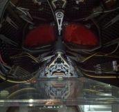 Inside Darth Vader's Helmet