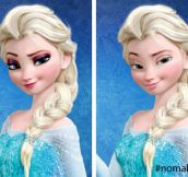Queen Elsa Without Makeup