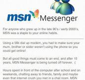 R.I.P MSN