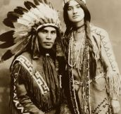 A Good Looking Native American Couple