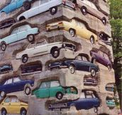 Amazing Art With Cars And Cement