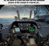 What It Feels To Be Inside A Harrier Jet