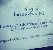 Respect Other People's Way Of Thinking